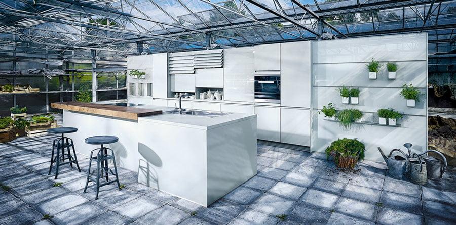 NX 902 Glass gloss crystal grey