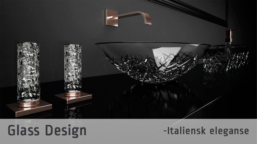 Rabatt glass og interiør