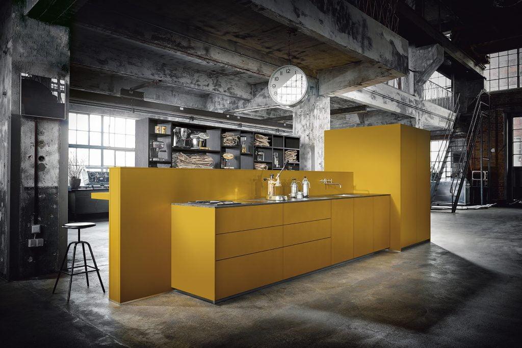 NX 505 Saffron yellow satin